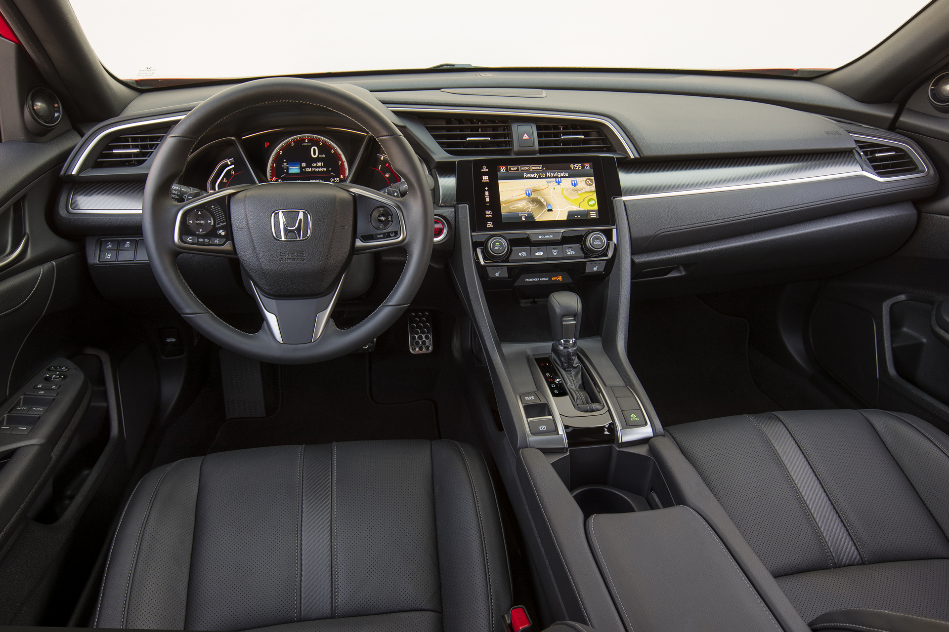 2017 Honda Civic Hatchback © Honda Motor Co., Ltd.