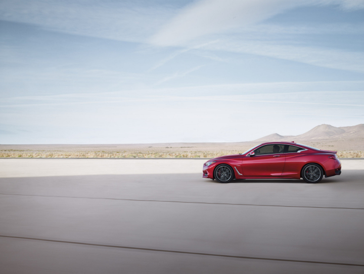 U.S. Pricing for the All-New 400-Horsepower 2017 Q60 Red Sport 400