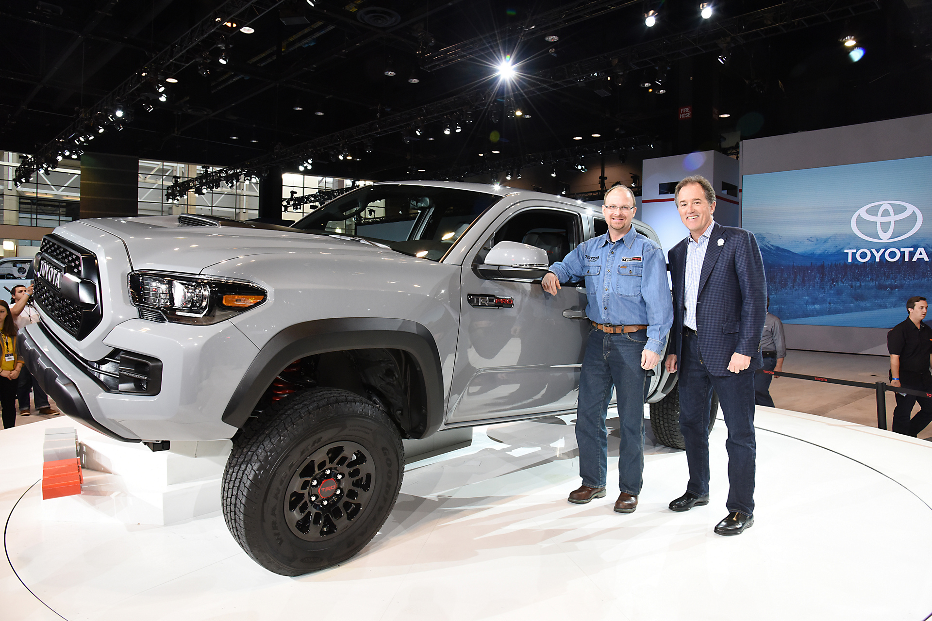 2016 Chicago Auto Show (CAS) - 2017 Tacoma TRD Pro Reveal © Toyota Motor Corporation