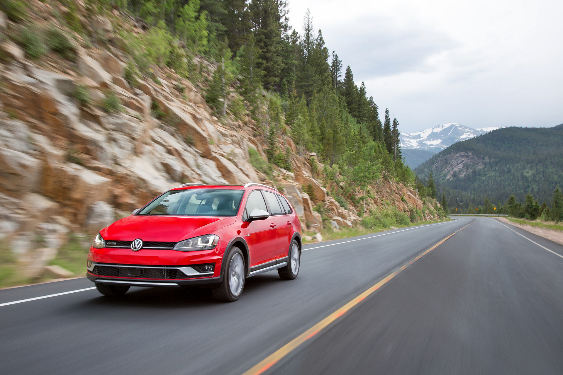 2017 Volkswagen Golf Alltrack © Volkswagen AG