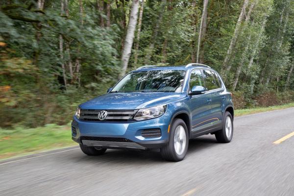 2017 Volkswagen Tiguan © Volkswagen AG