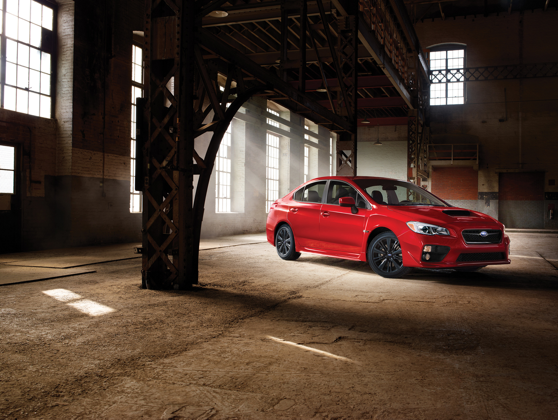 2017 Subaru WRX © Fuji Heavy Industries, Ltd.