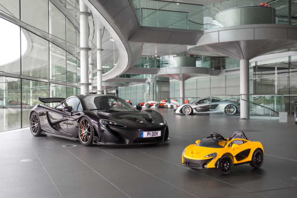 The latest McLaren P1™ is Pure Electric © McLaren Automotive