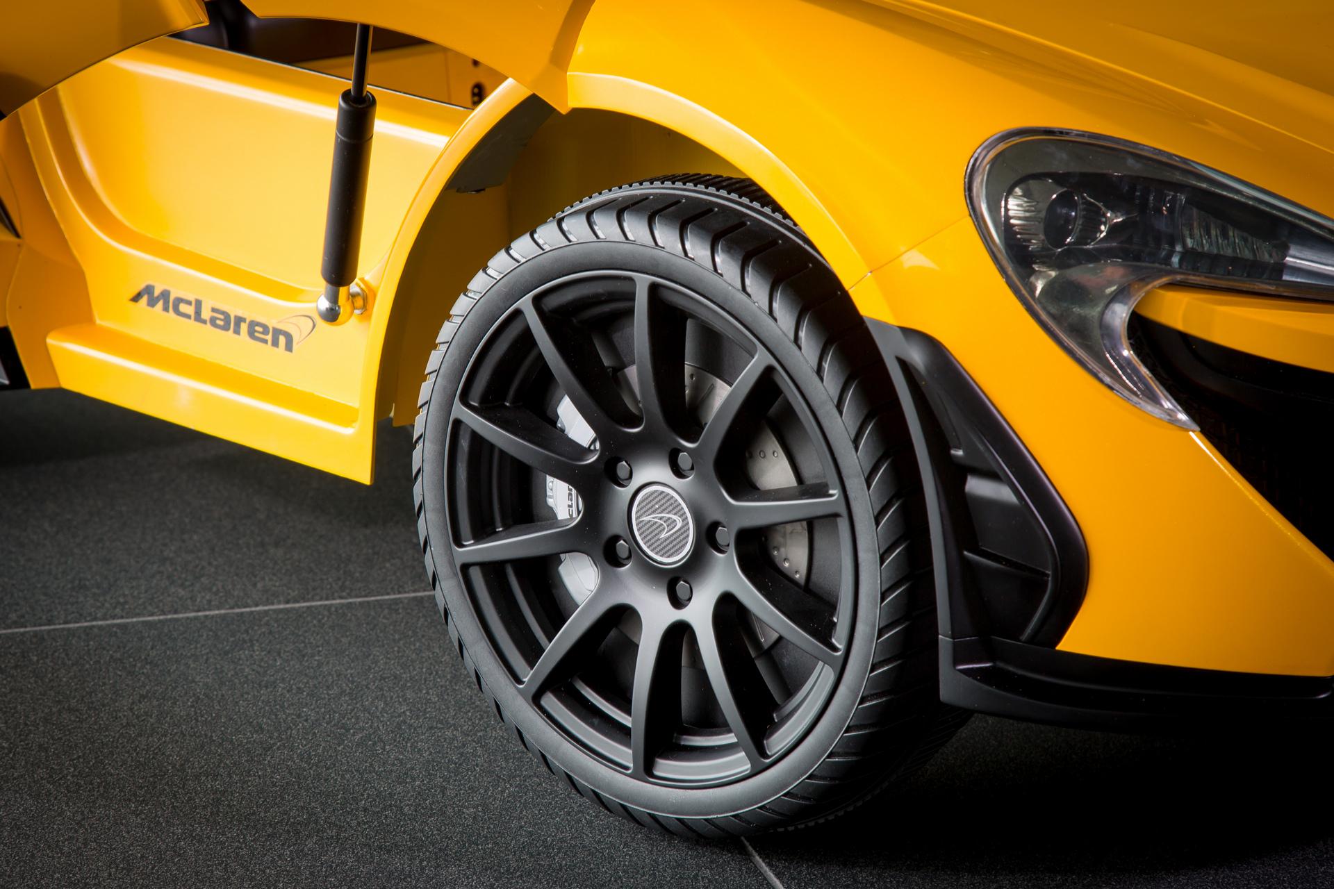 The latest McLaren P1™ is Pure Electric © McLaren Automotive