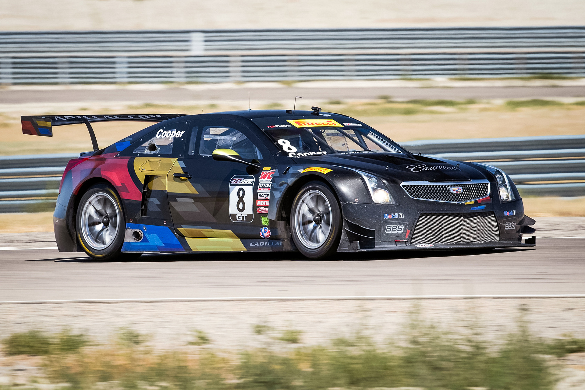 Cadillac ATS-V.R Racing at Utah Motorsports Campus © General Motors