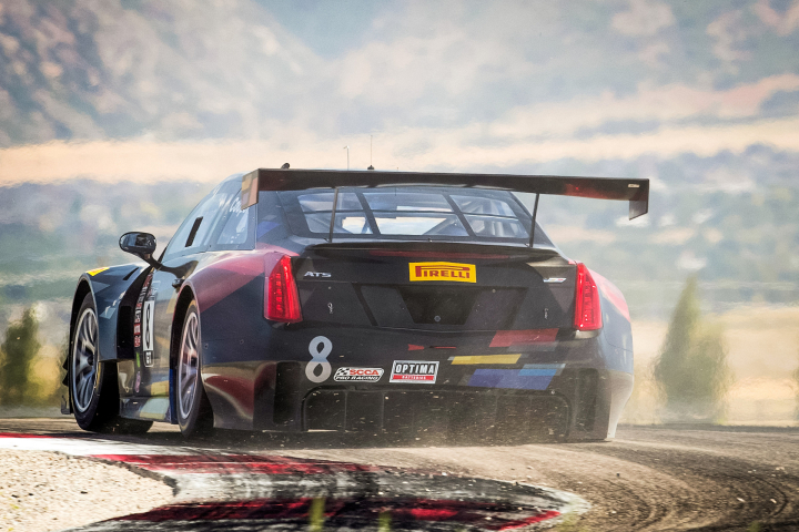Cadillac Racing Heads to California Wine Country