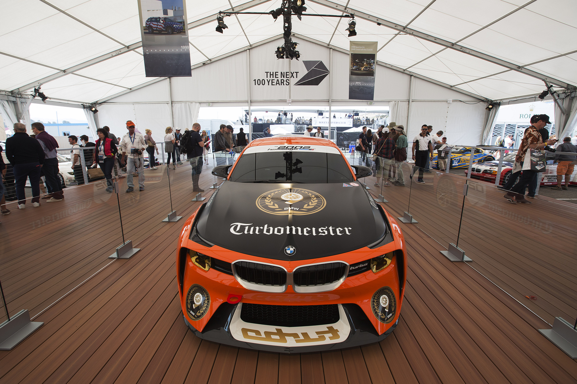 100th anniversary during the 2016 Monterey Car Week © BMW AG