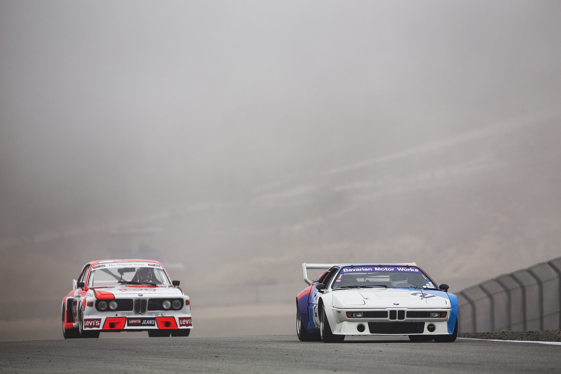 BMW M1 and BMW 3.0 CSL © BMW AG