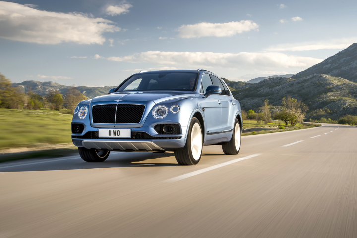 Bentley Bentayga Diesel Preview