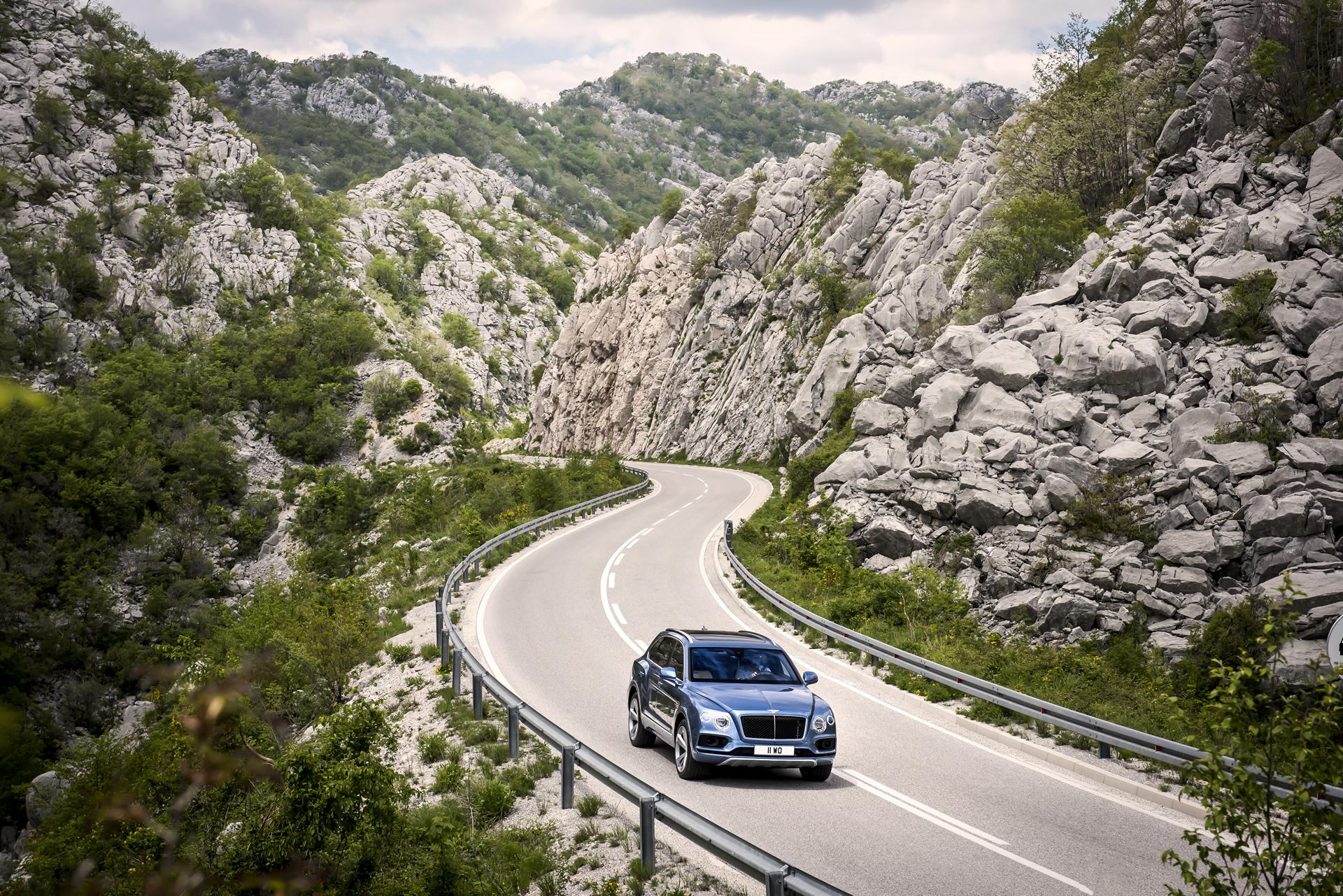 Bentley Bentayga Diesel © Volkswagen AG