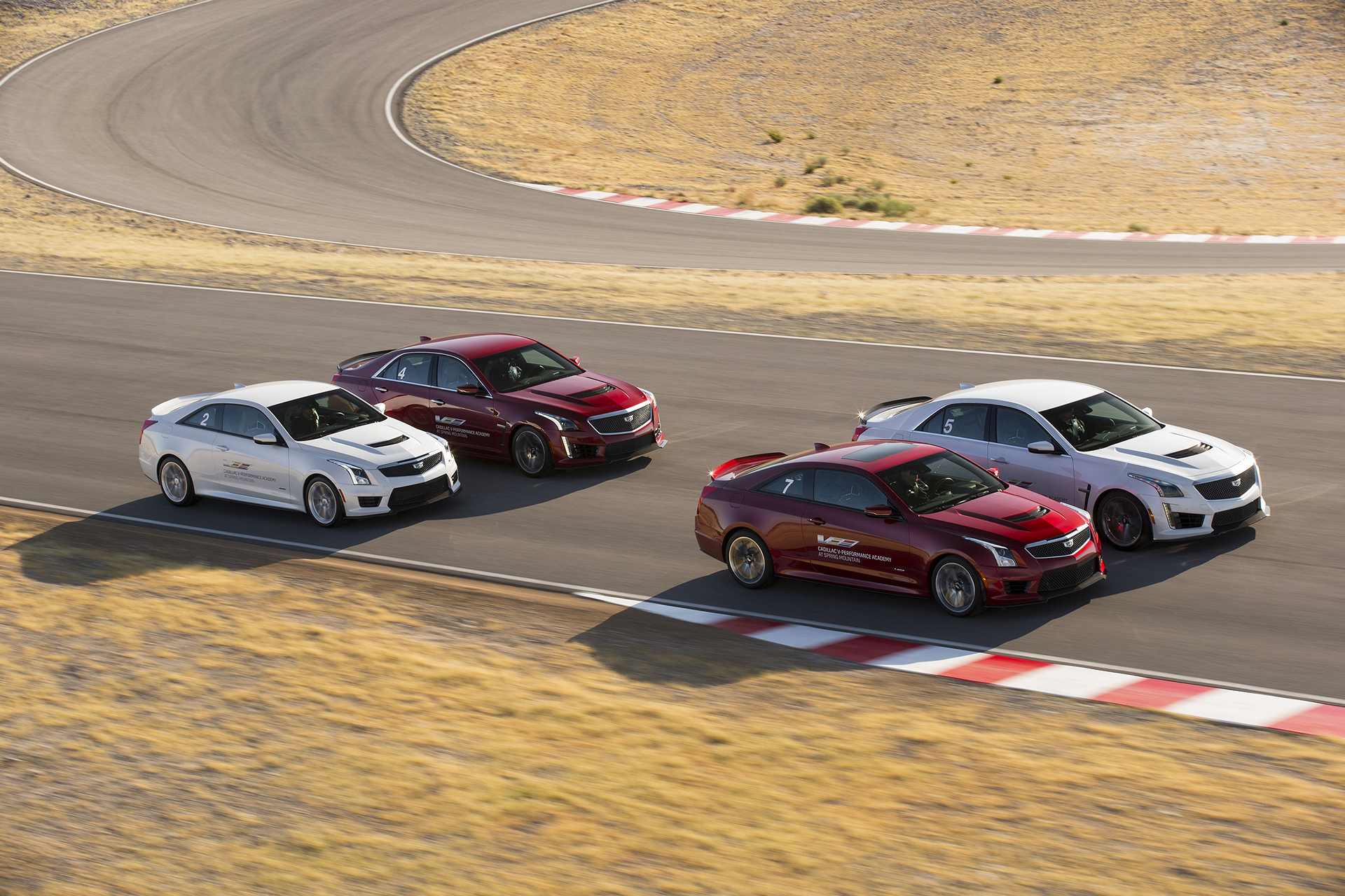 Introducing the Cadillac V-Performance Academy driving experience at Spring Mountain Motor Resort and Country Club near Las Vegas, NV © General Motors