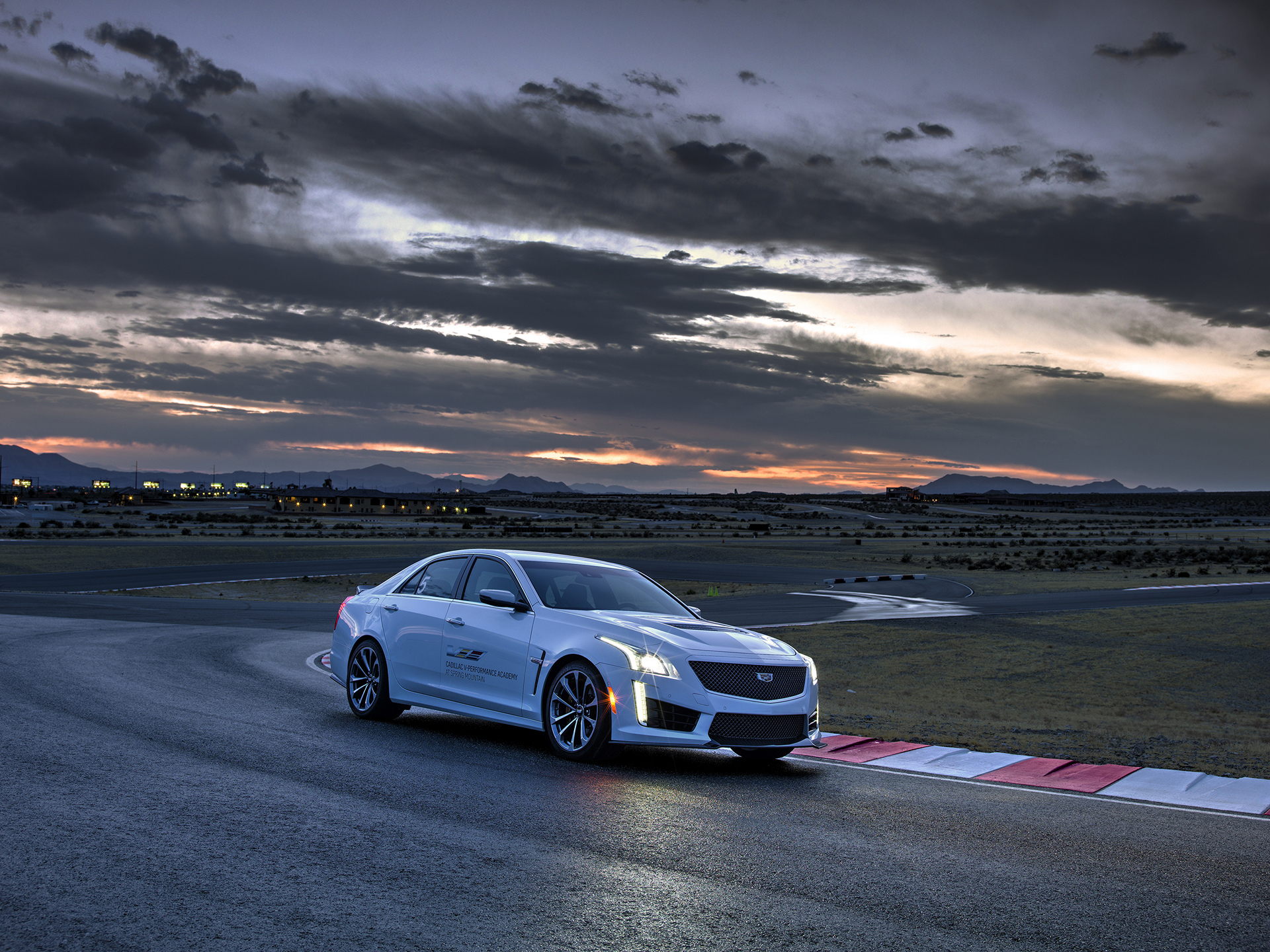 The Cadillac CTS-V at the Cadillac V-Performance Academy © General Motors