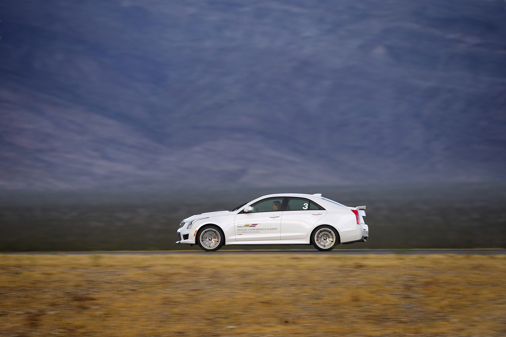 The Cadillac ATS-V Coupe at the Cadillac V-Performance Academy © General Motors
