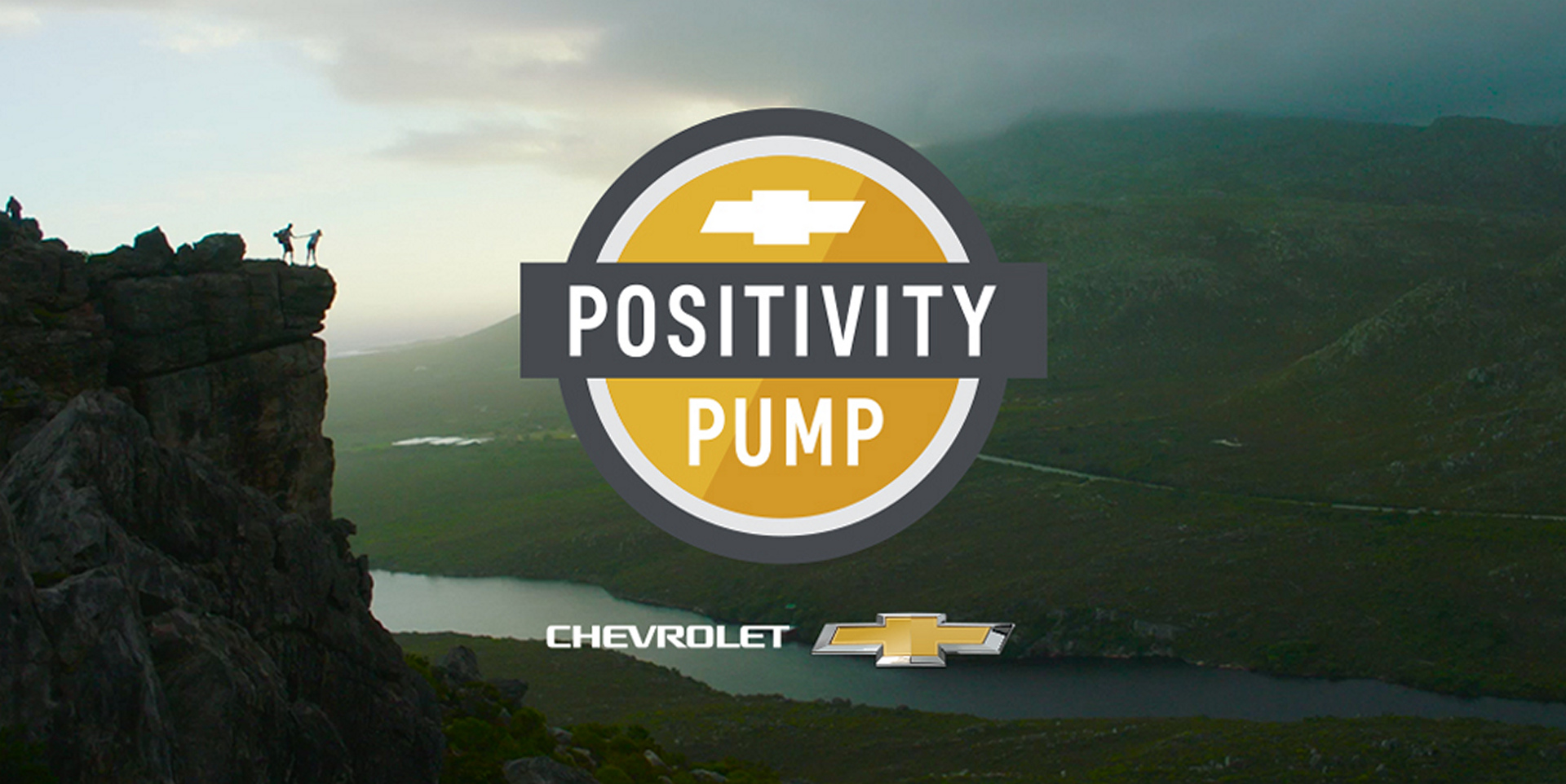 "September 13th was the ""International Day of Positive Thinking"" and Chevrolet enlisted the cognitive capabilities of IBM's Watson platform to develop the Chevrolet Global Positivity System © General Motors"
