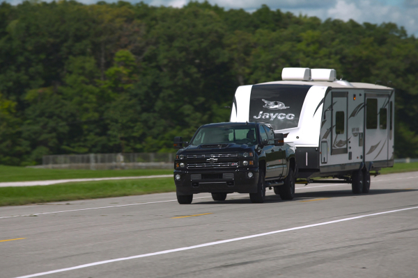 Chevrolet Joins Trailering Leaders to Create Integrated Experience © General Motors