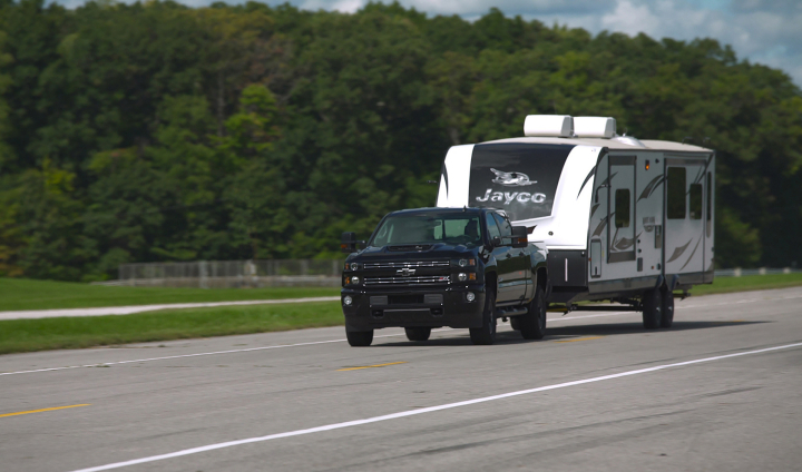 Chevrolet Joins Trailering Leaders to Create Integrated Experience