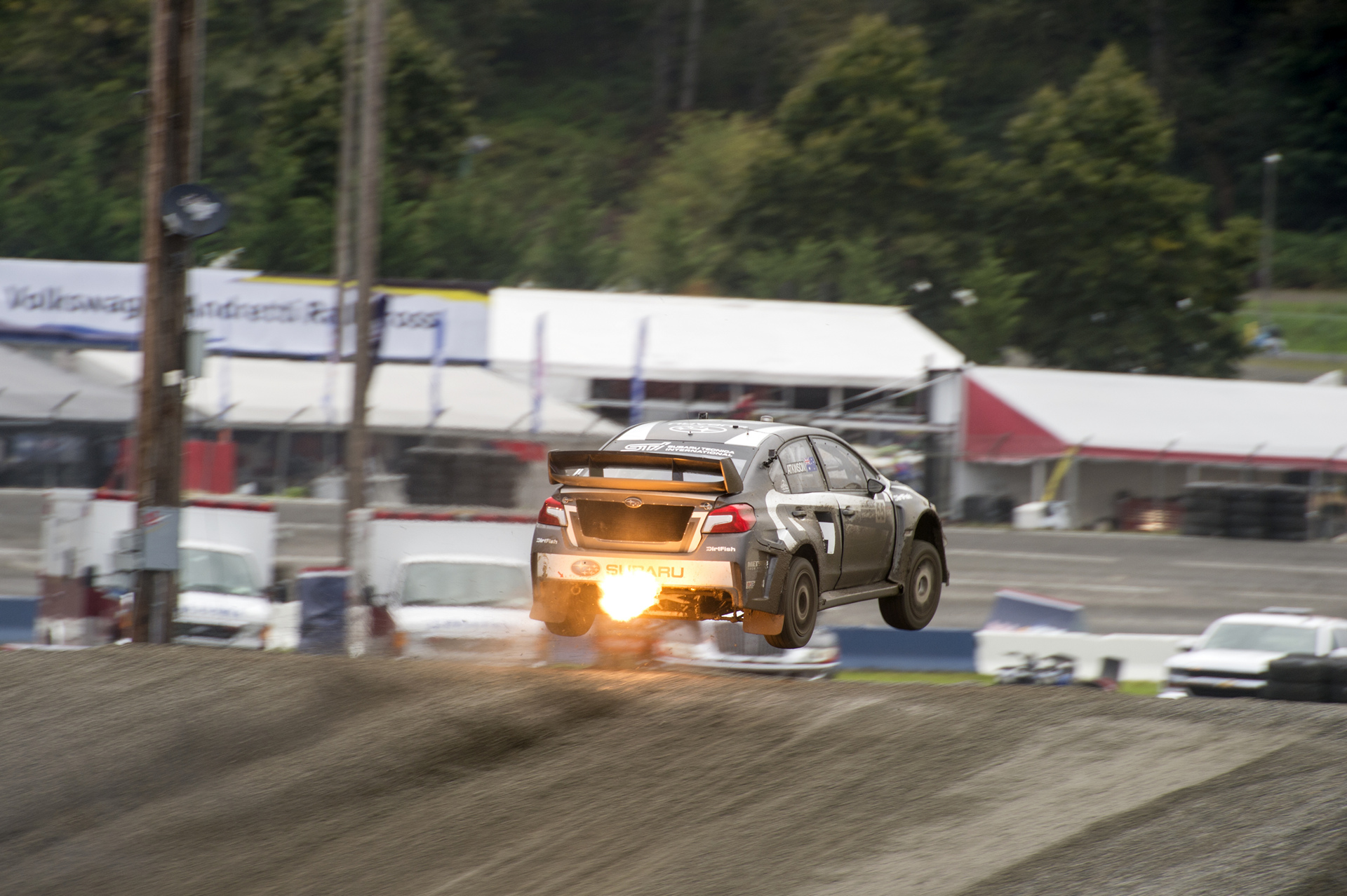 Chris Atkinson catching air at GRC Seattle © Fuji Heavy Industries, Ltd.