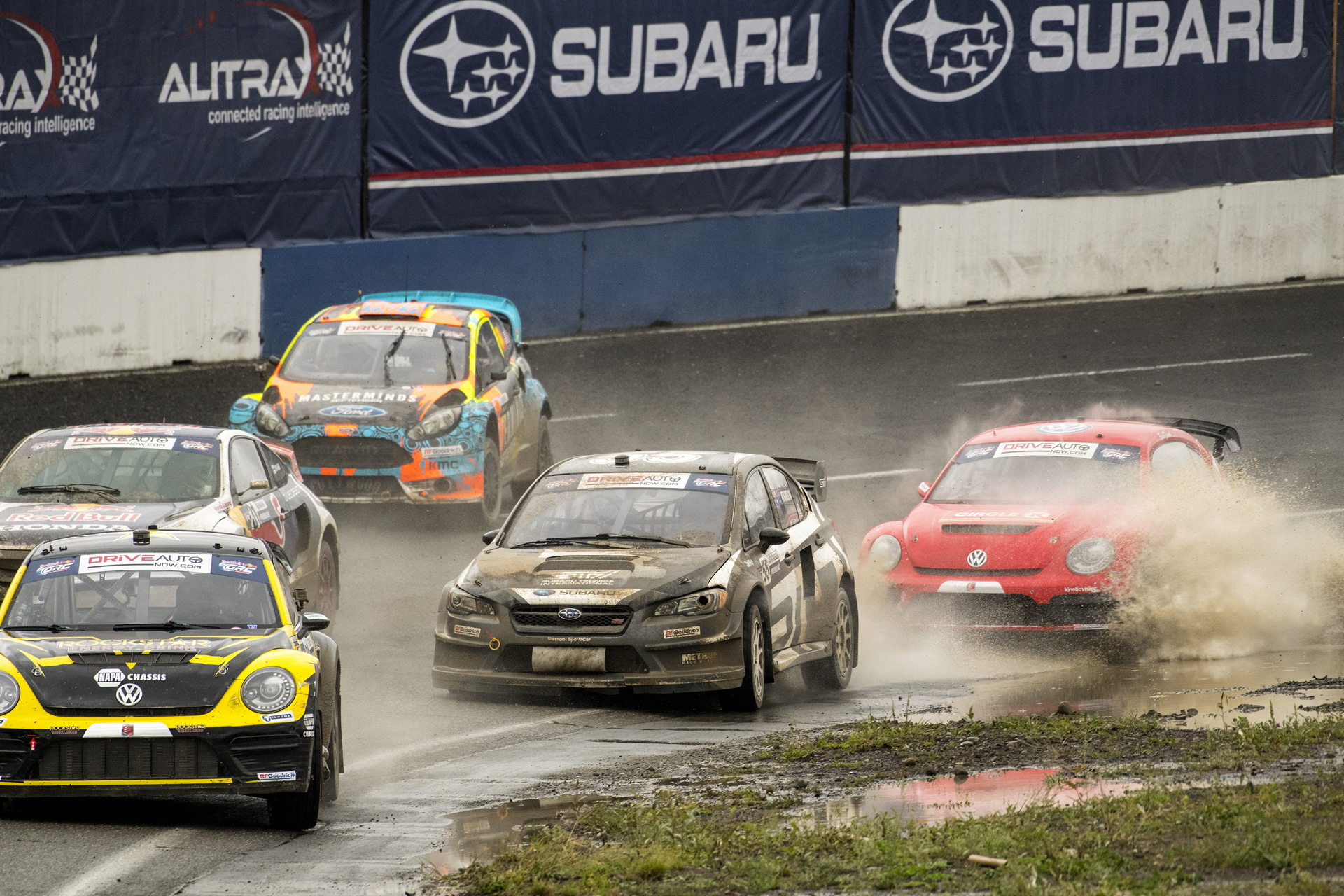 Chris Atkinson during the semi final at GRC Seattle © Fuji Heavy Industries, Ltd.