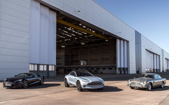 Aston Martin Hires First Employees for Welsh Factory