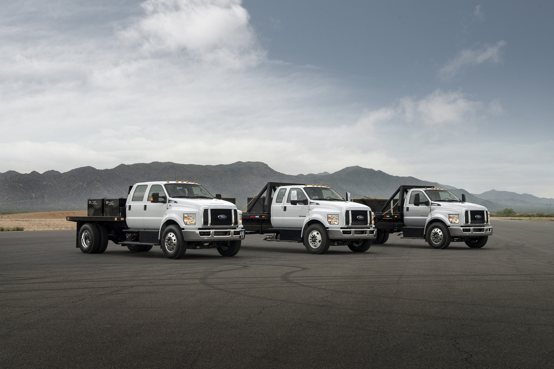 Ford F-650 and F-750 Trucks © Ford Motor Company