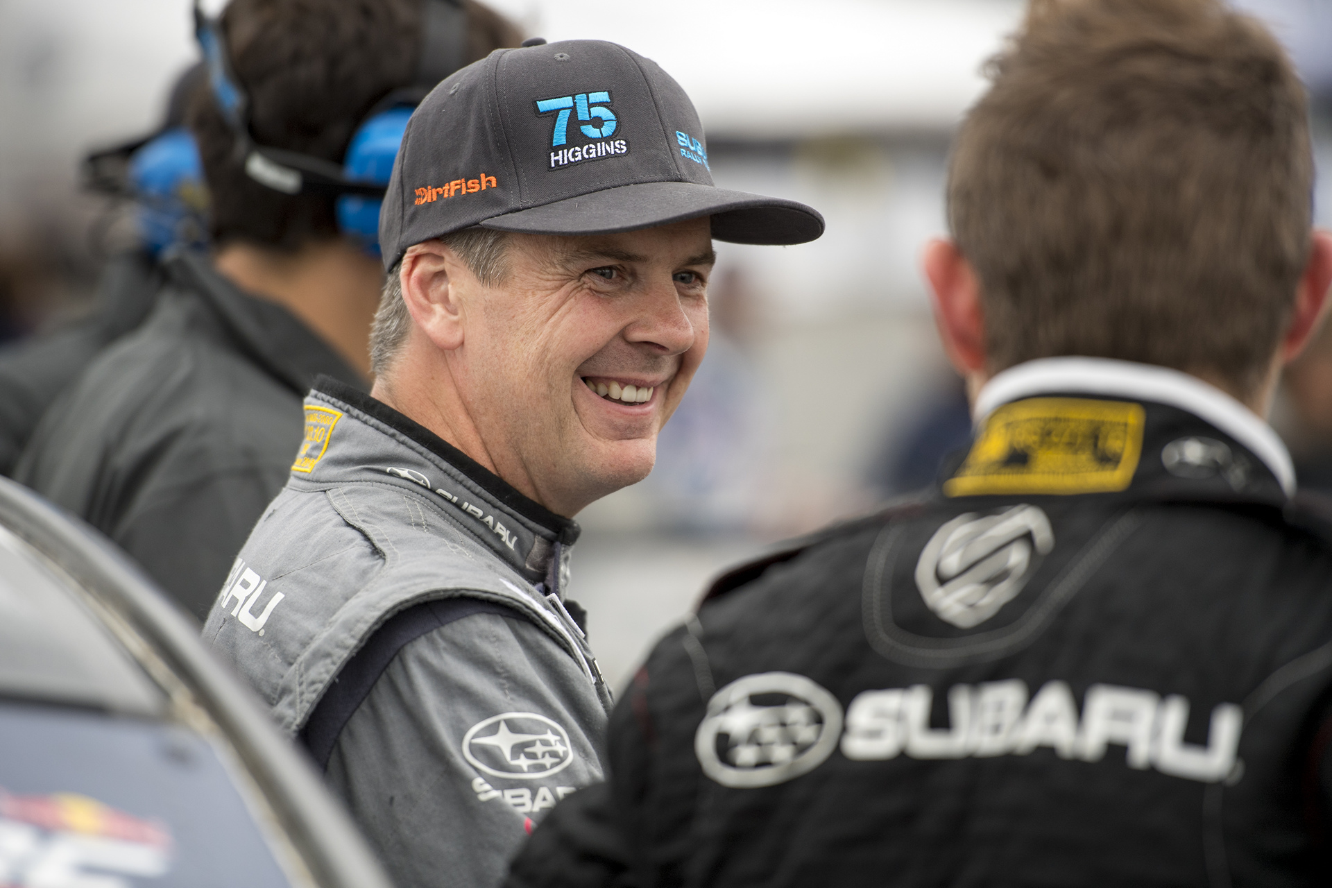 Defending Rally America Champion David Higgins at GRC Seattle © Fuji Heavy Industries, Ltd.