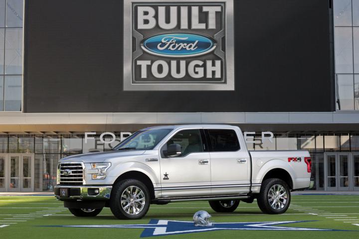 Ford Introduces Limited-Edition Dallas Cowboys F-150