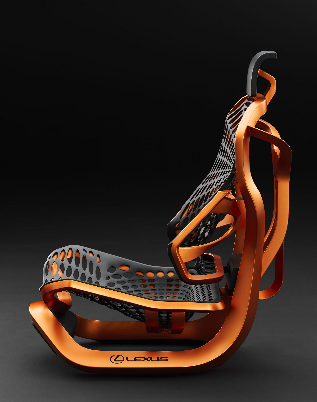 Lexus Kinetic Seat Concept © Toyota Motor Corporation