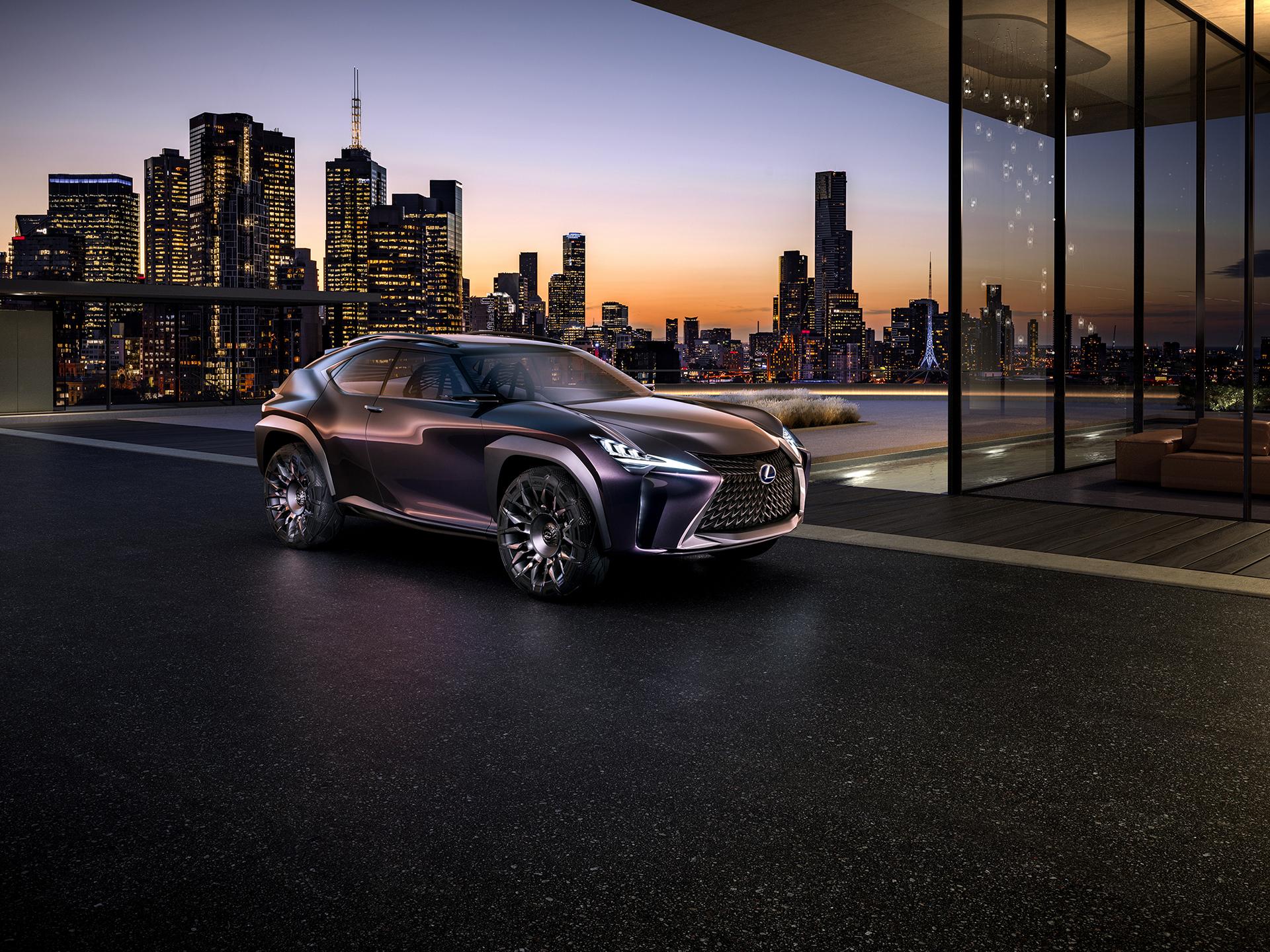 Lexus UX Concept © Toyota Motor Corporation