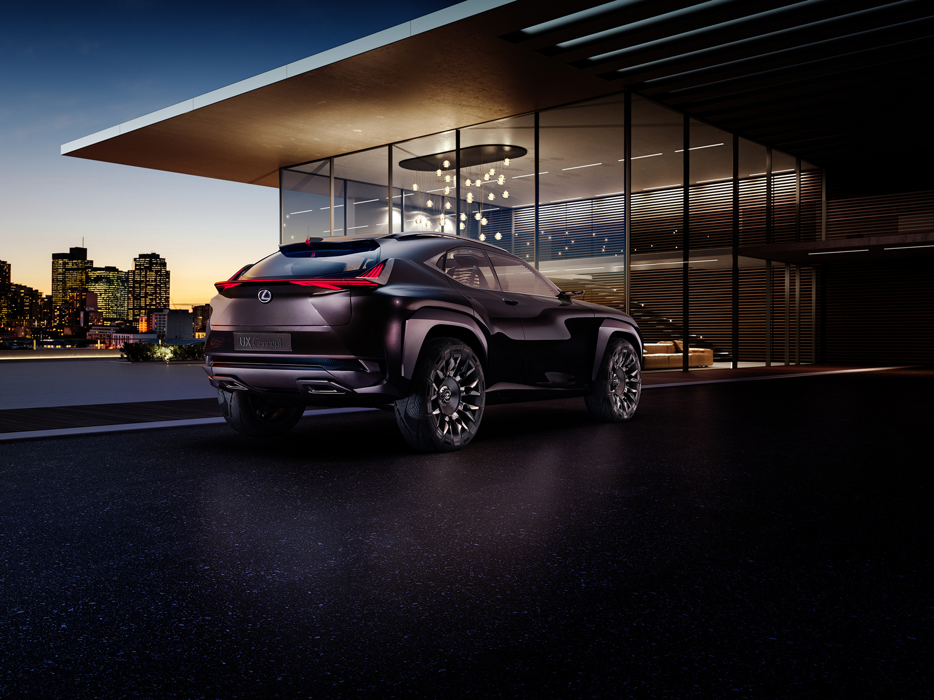Lexus UX © Toyota Motor Corporation