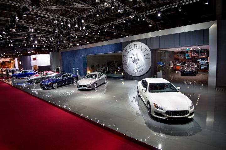 Maserati at the Paris Motor Show