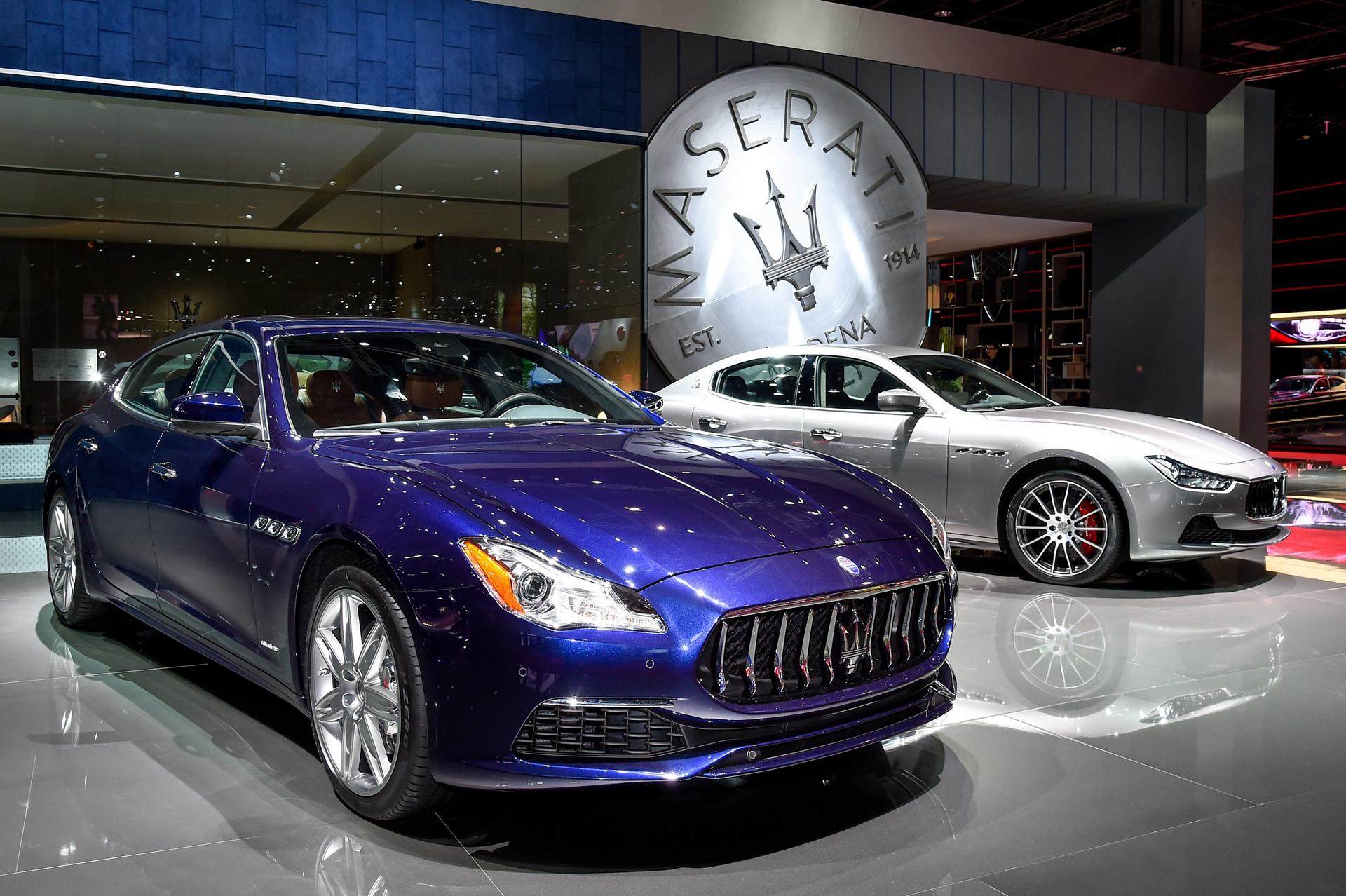 Maserati Quattroporte GranLusso © Fiat Chrysler Automobiles N.V.