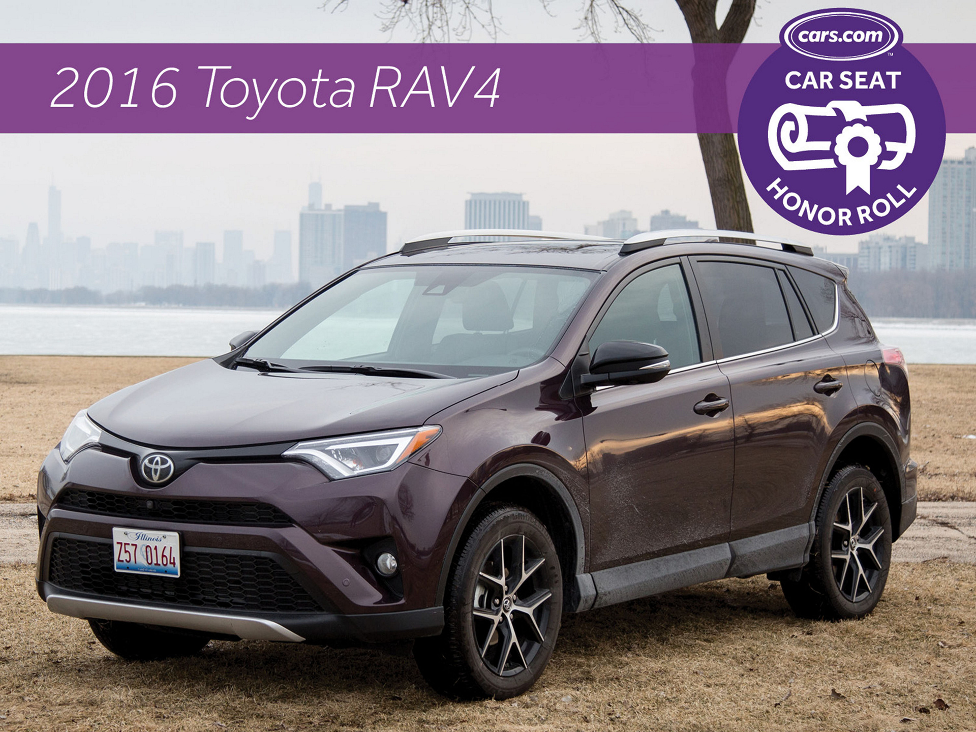 RAV4 'Top of the Class' for Car Seat Installation © Toyota Motor Corporation