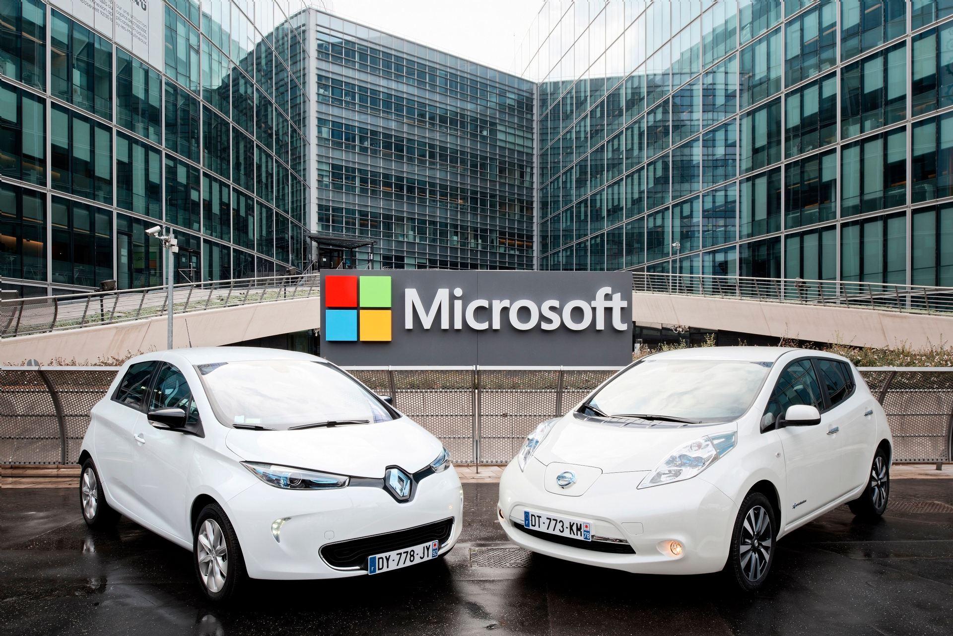 Renault-Nissan and Microsoft partner to deliver the future of connected driving © Nissan Motor Co., Ltd.