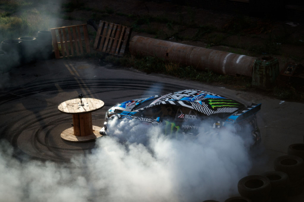 Coming Soon: FordVR Teases Virtual Reality Experience of Gymkhana NINE © Ford Motor Company