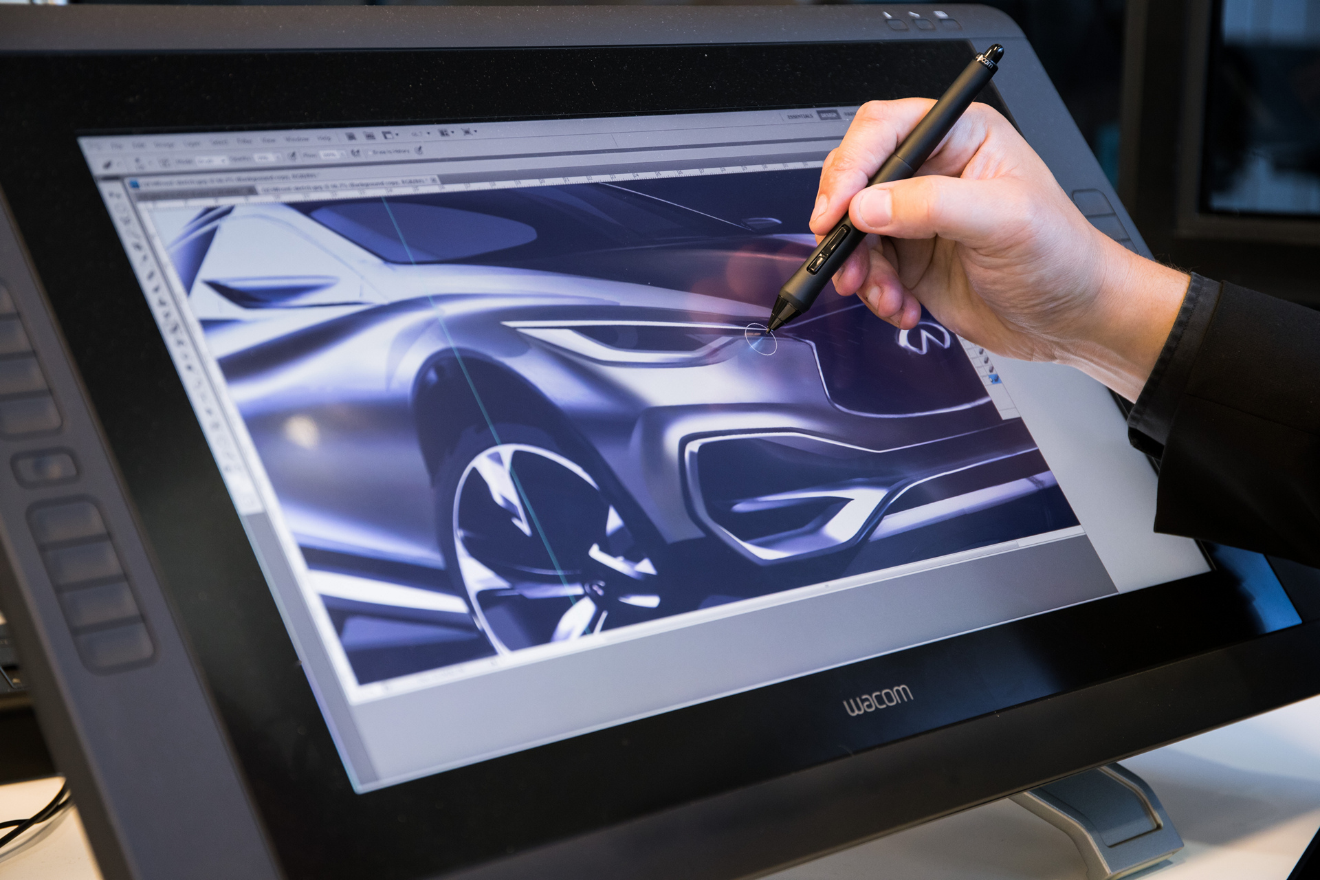 The future of color with INFINITI © Nissan Motor Co., Ltd.