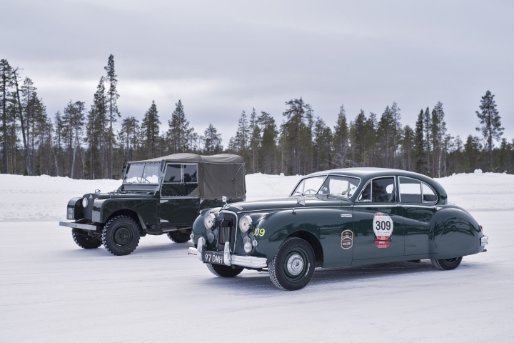 Jaguar Classic Partners Pirelli and Offers Unique Arctic Adventure