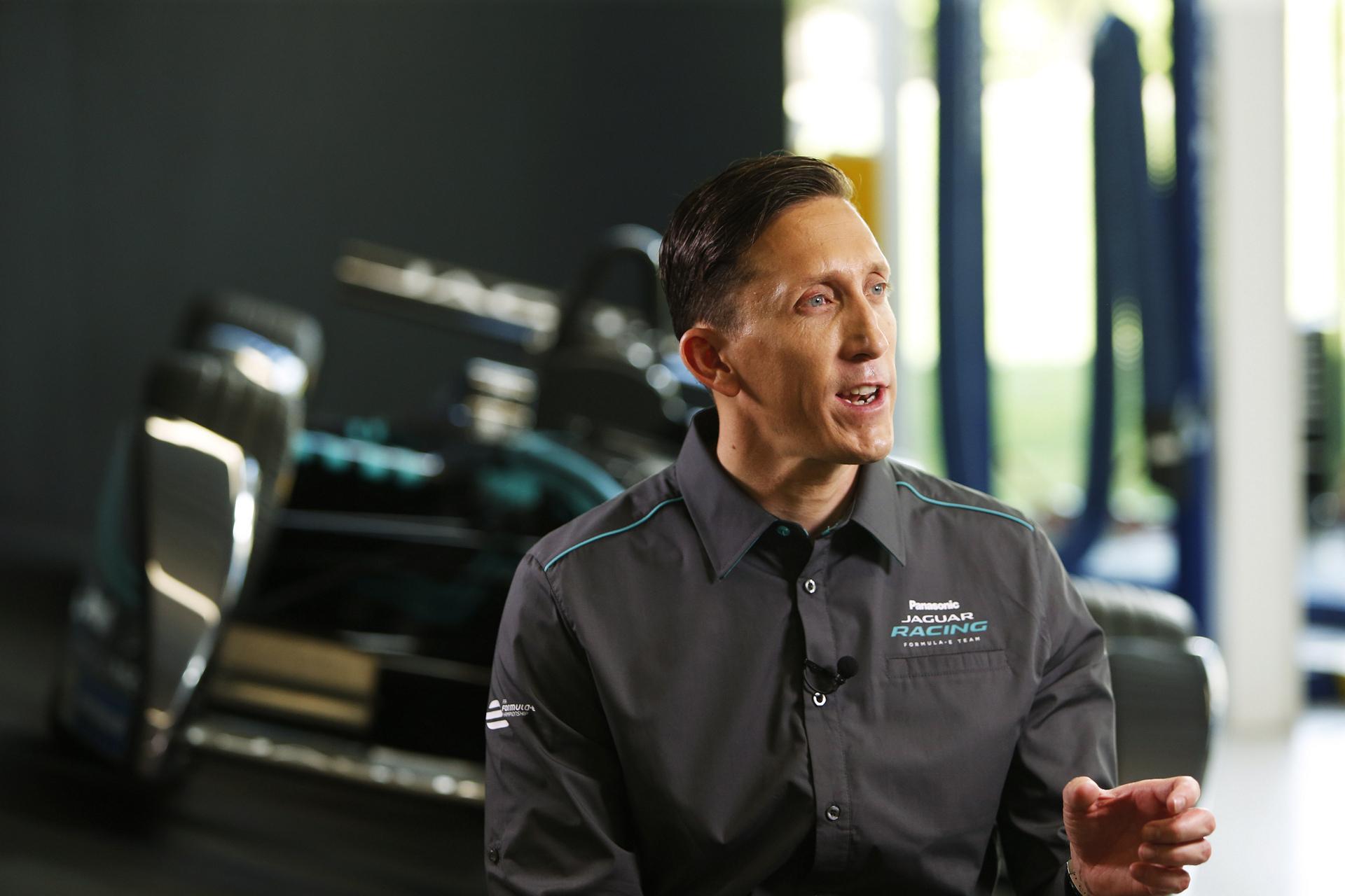 James Barclay, Panasonic Jaguar Racing Team Director © Tata Group