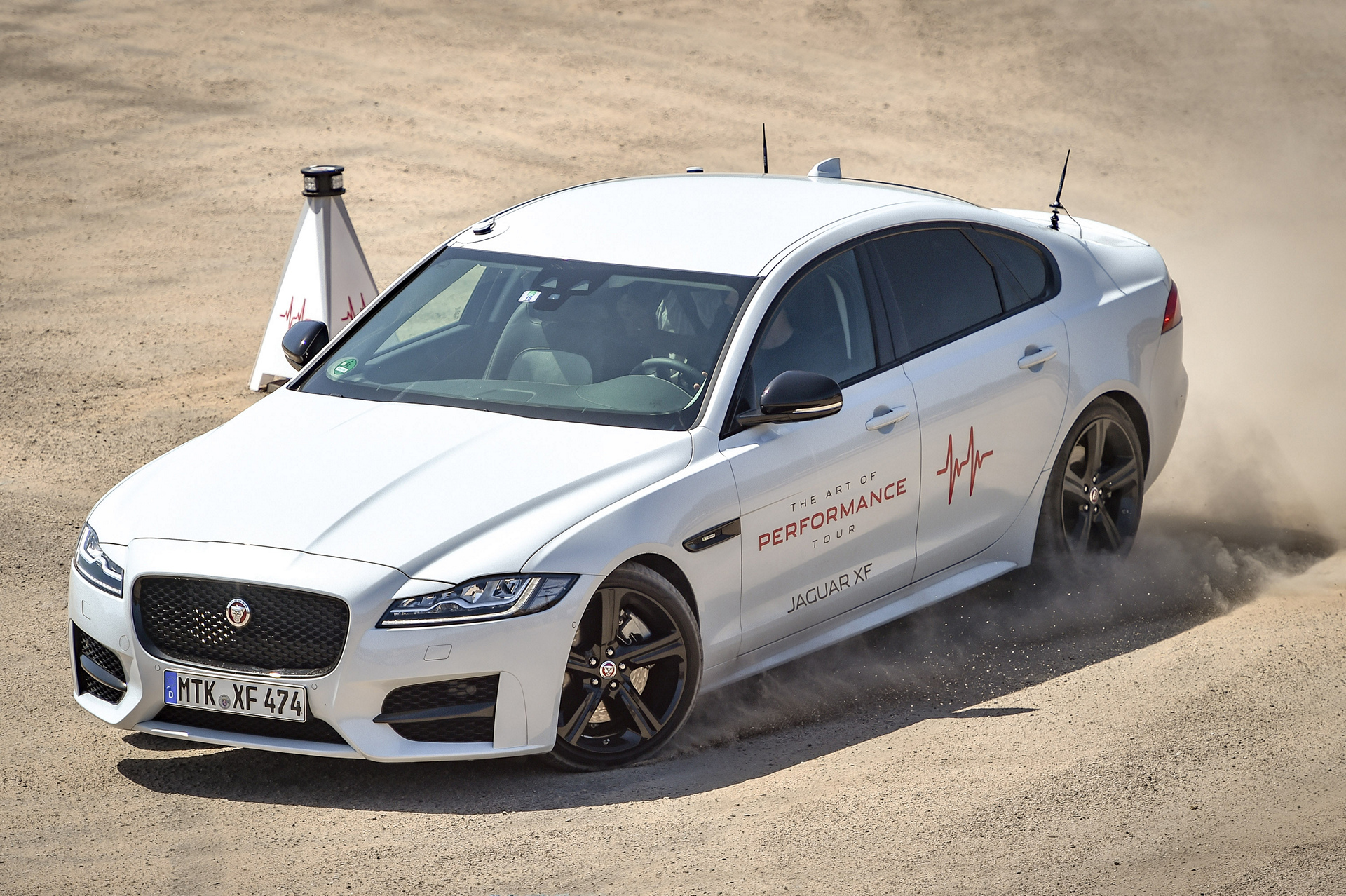 Nicholas Hoult Takes on Unique Driving Challenge in New Jaguar XF © Tata Group
