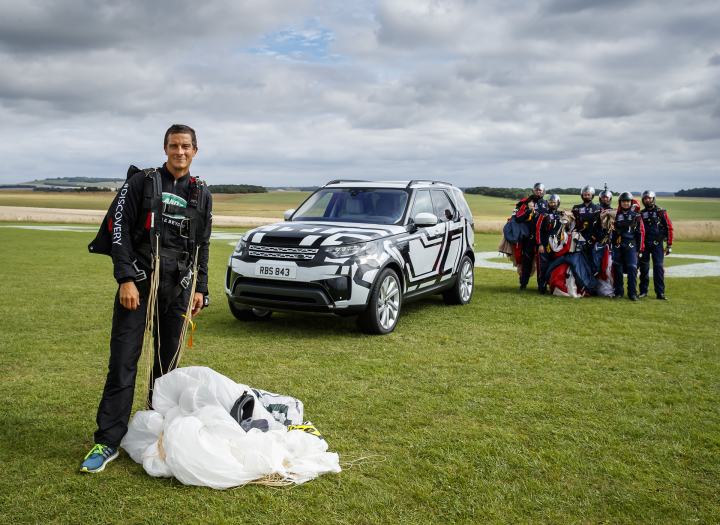Land Rover Puts World-First Intelligent Seat Fold Technology to Extreme Test… Remotely