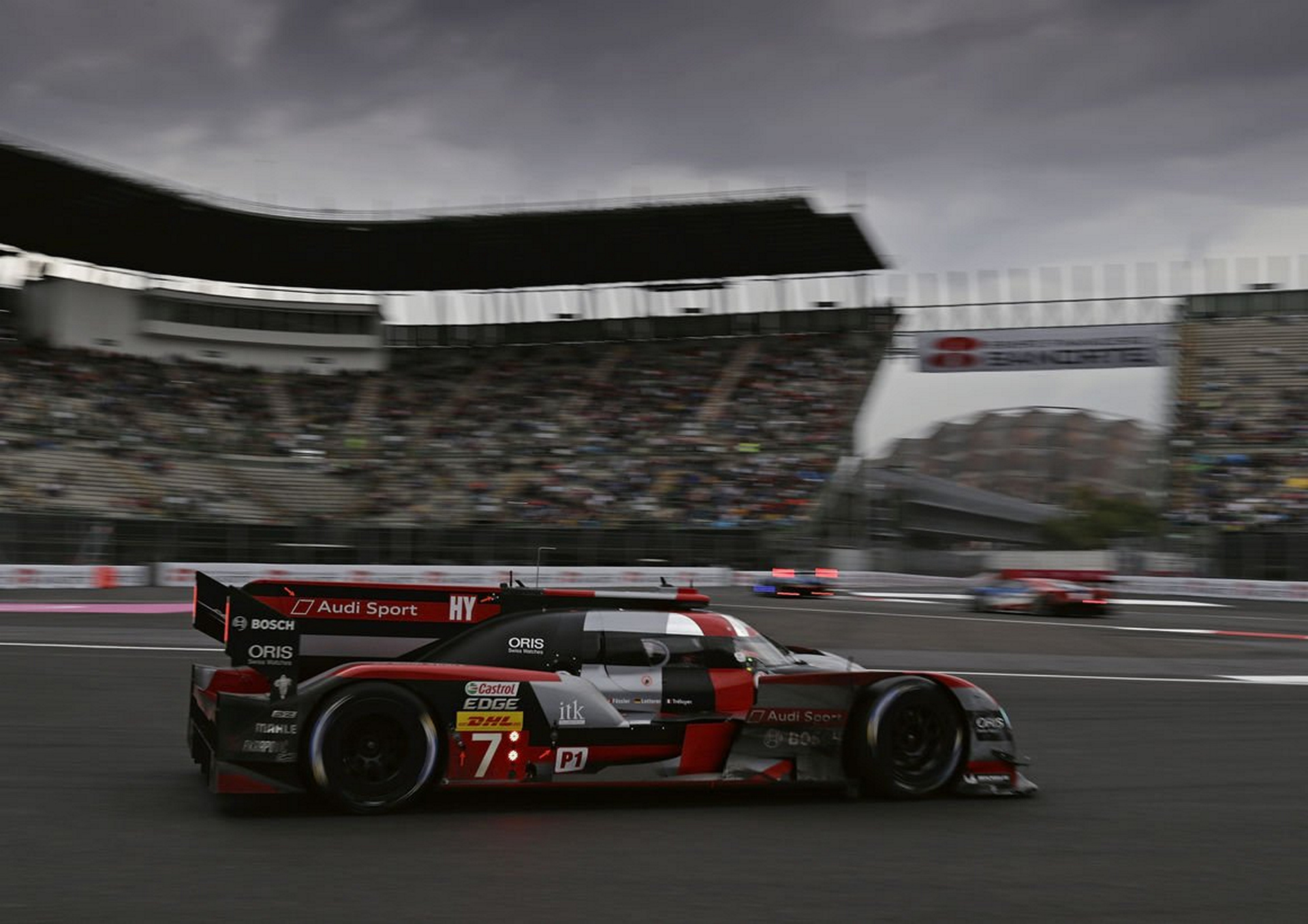 Audi Second In Turbulent Race In Mexico Carrrs Auto Portal - Audi mexico