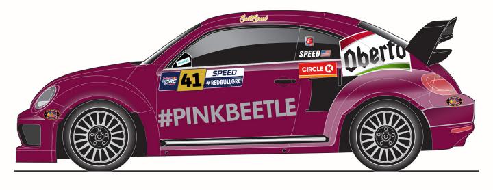 Volkswagen Andretti Rallycross to Celebrate #PinkBeetle at Red Bull Global Rallycross