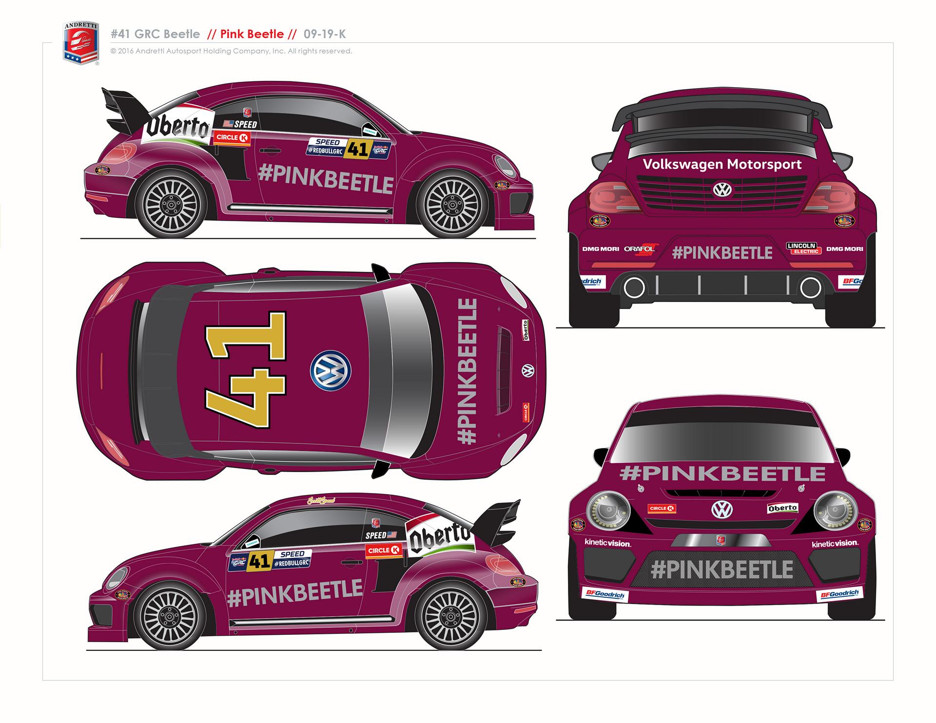 No. 41 #PinkBeetle GRC © Volkswagen AG