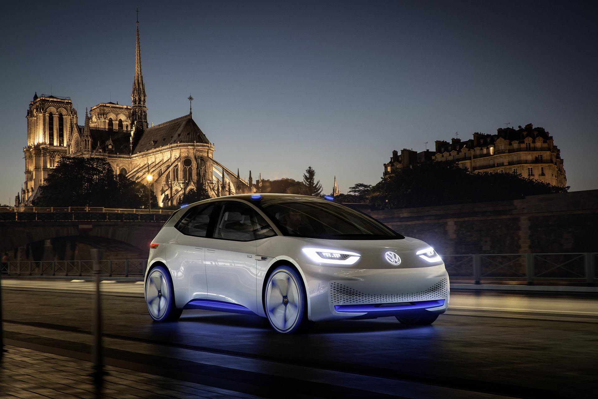 Volkswagen Showcar I.D. © Volkswagen AG