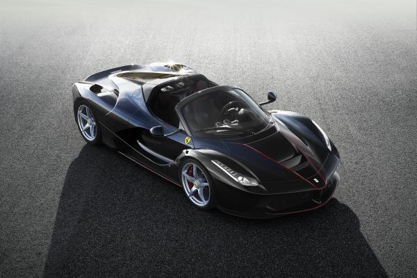 Ferrari LaFerrari Aperta © Fiat Chrysler Automobiles N.V.