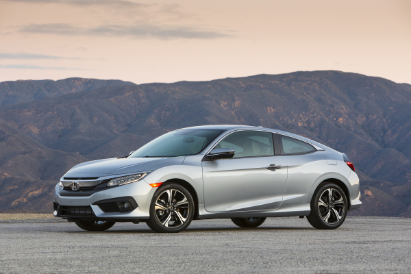 2017 Honda Civic Coupe © Honda Motor Co., Ltd.