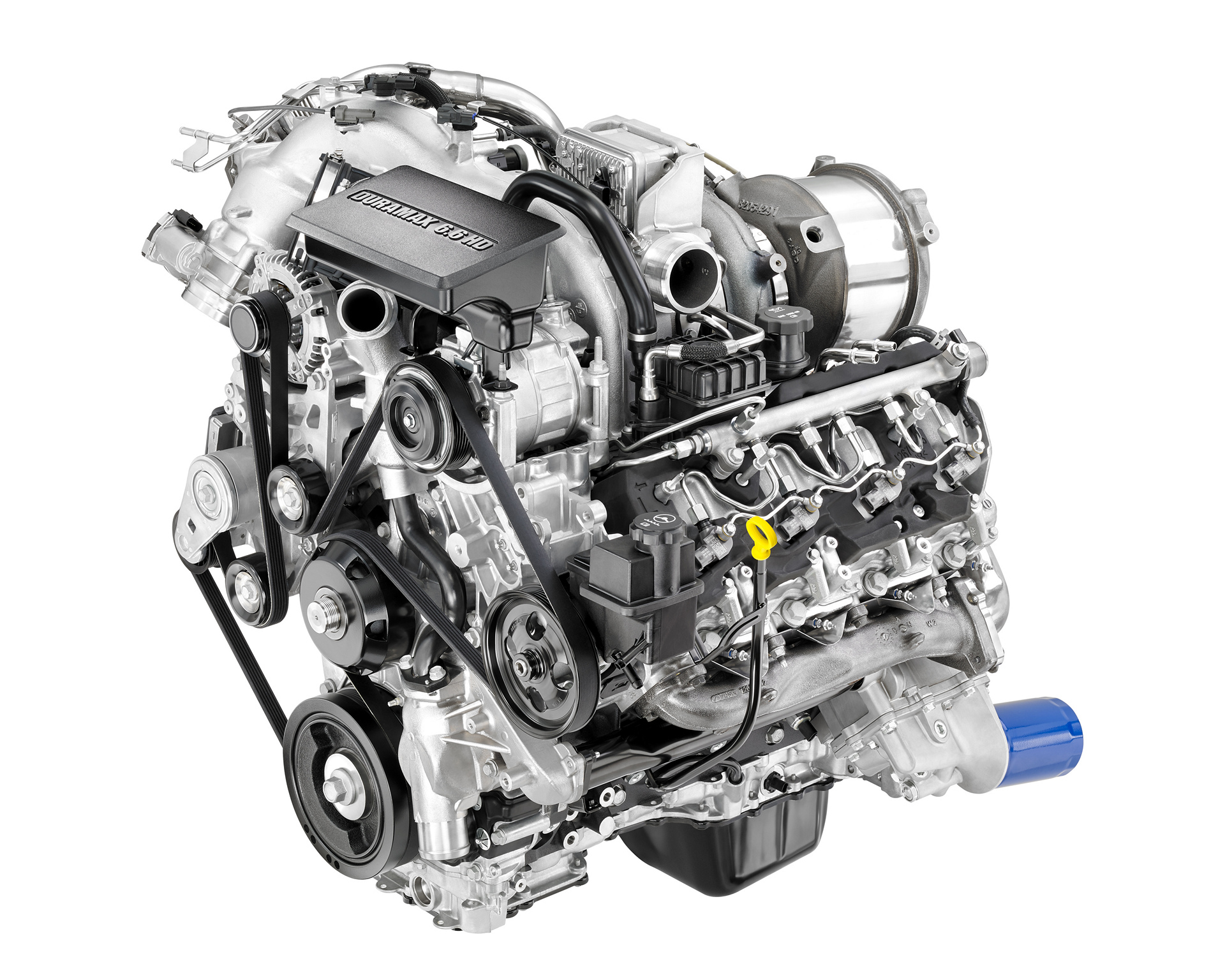 New Duramax 6.6L Diesel Introduced on 2017 Sierra HD © General Motors