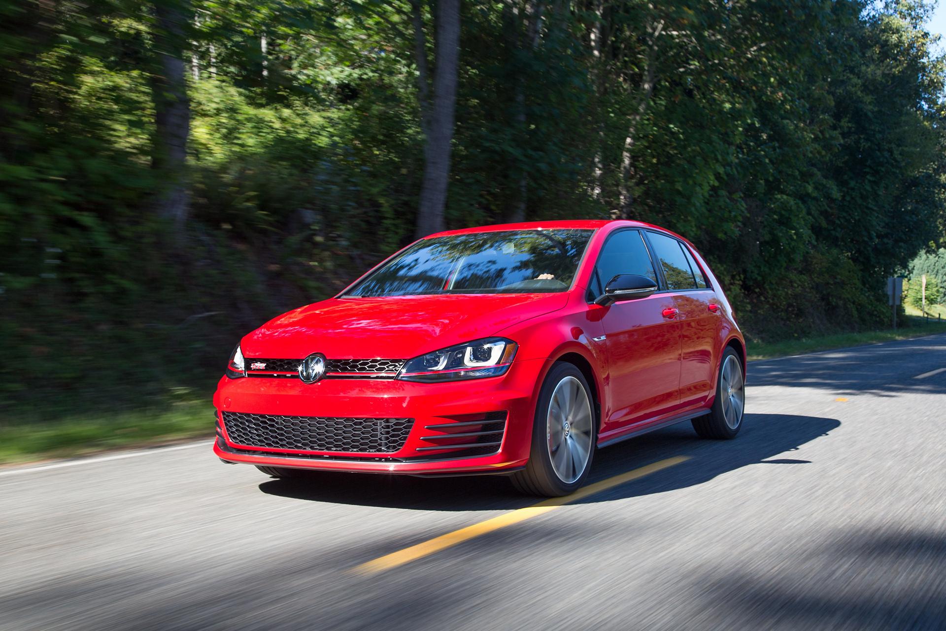 2017 Volkswagen Golf GTI © Volkswagen AG