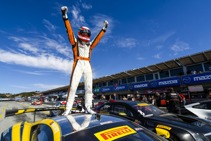 McLaren 650S GT3 Secures Triple Honours at Laguna Seca