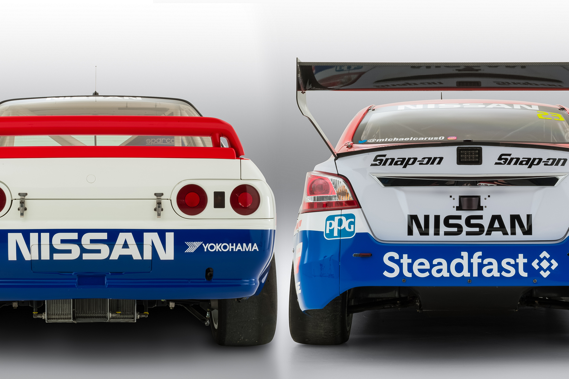 Nissan celebrates 25 years since first Bathurst 1000 victory © Nissan Motor Co., Ltd.