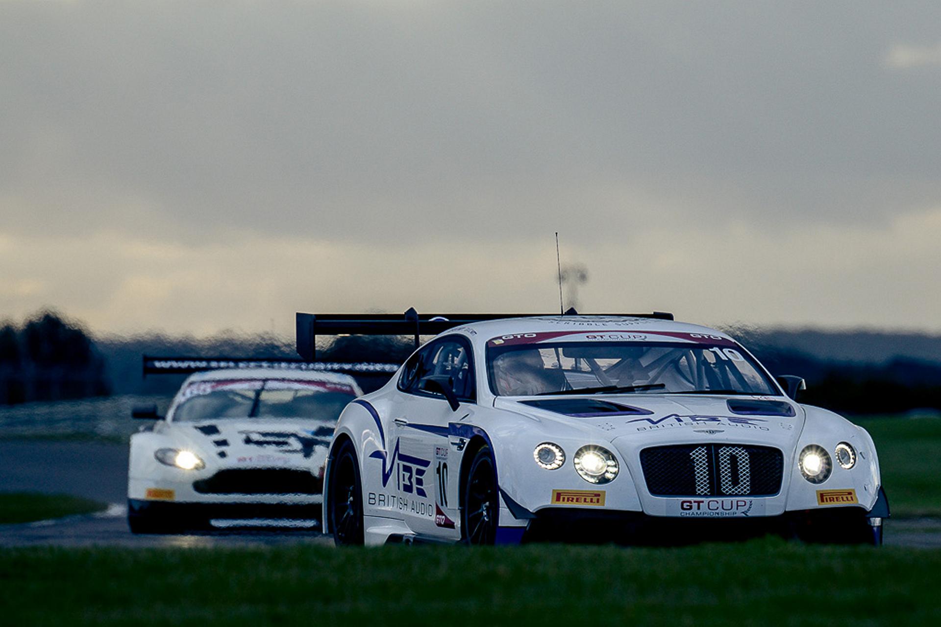 Bentley and Jordan Racing Win 2016 GT Cup © Volkswagen AG